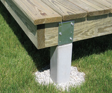 Specialty Concrete Column Deck Posts