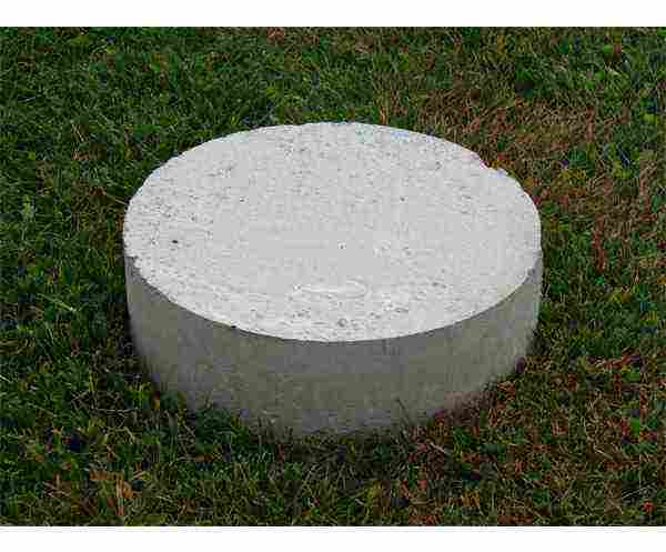 Load Bearing Concrete Foundation Pads